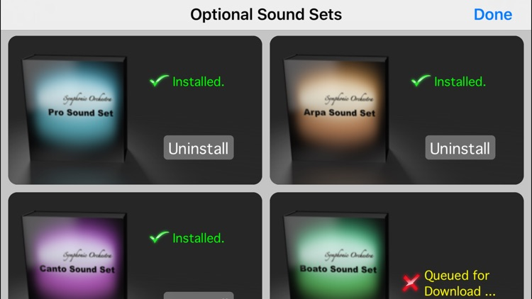 iSymphonic Orchestra screenshot-5