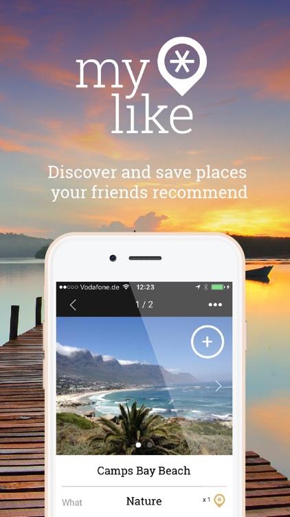 myLike – Travel Planner