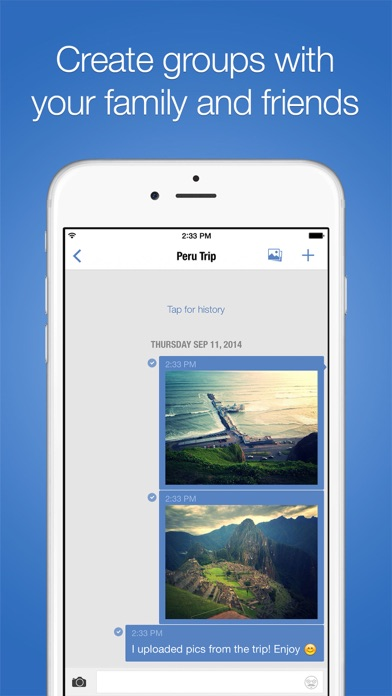 imo video calls and chat HD Screenshot on iOS