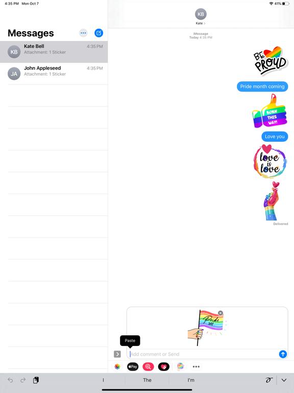 LGBT Power Stickers screenshot 6