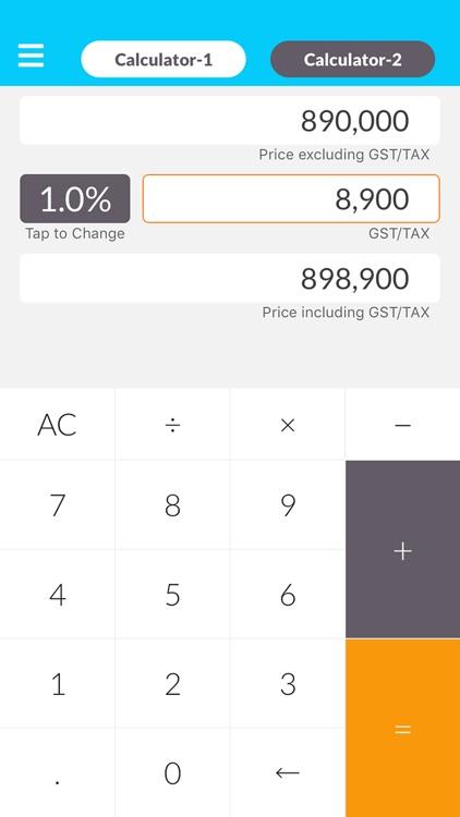 Tax Calculator - Simple Editio