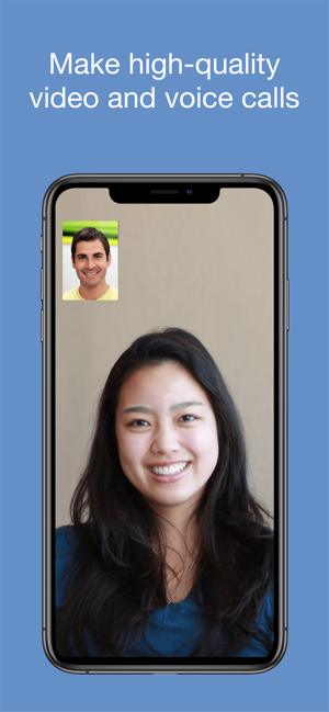 ‎imo video calls and chat HD Screenshot