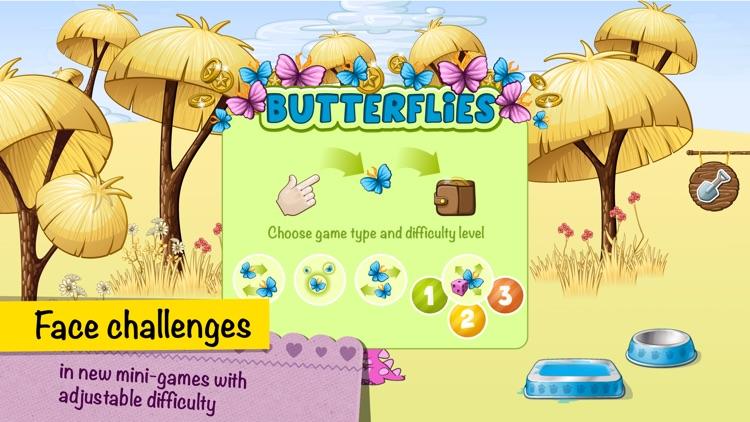 Virtual Pet Dino and Farm.
