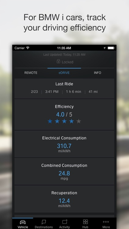 BMW Connected screenshot-3