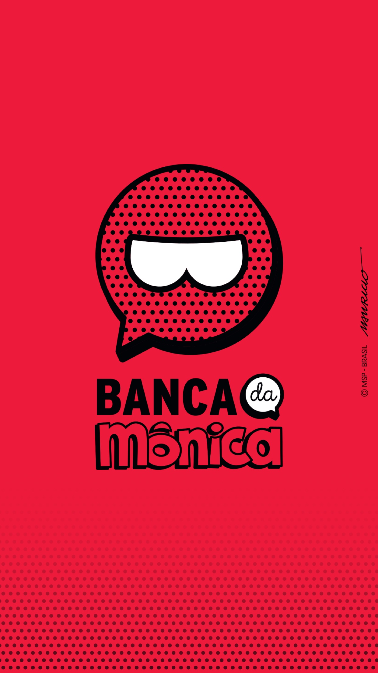 Screenshot do app Banca da Mônica
