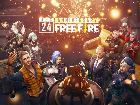 Garena Free Fire - Anniversary - Revenue & Download