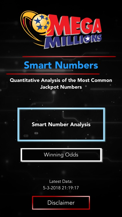 Mega Millions - Smart Numbers screenshot-0