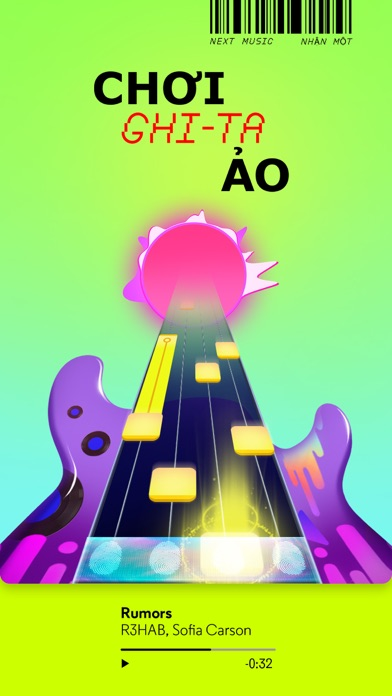 Screenshot for NEXT Music ™ in Viet Nam App Store