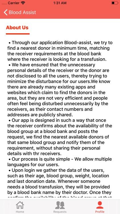 Blood-Assist screenshot-6