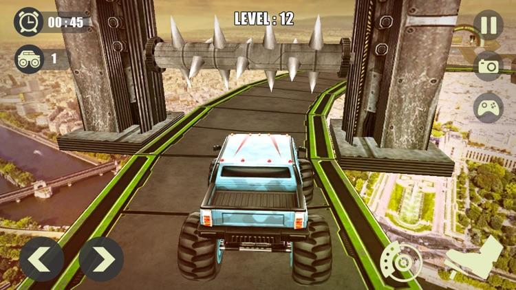 3D Monster Truck Derby Stunt screenshot-5