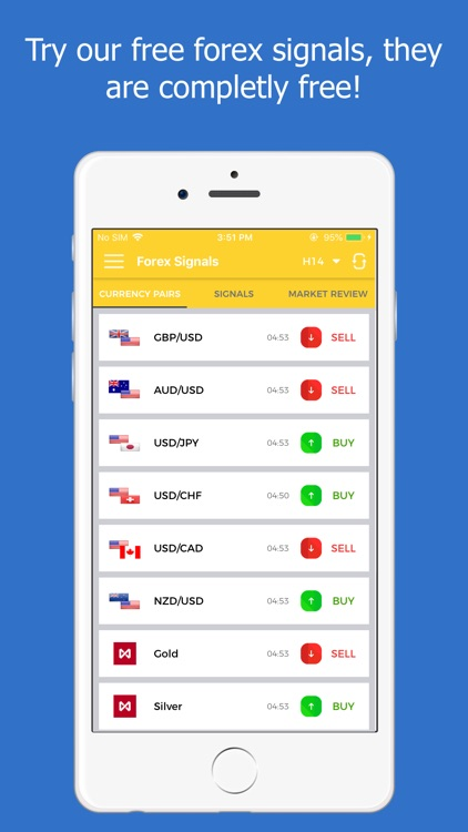 Forex Signals Tracking - Live screenshot-0