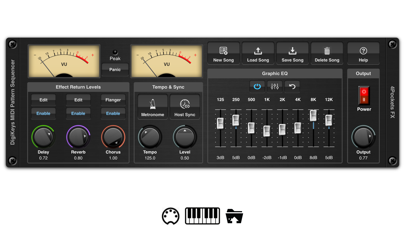DigiKeys AUv3 Sequencer Plugin screenshot 1