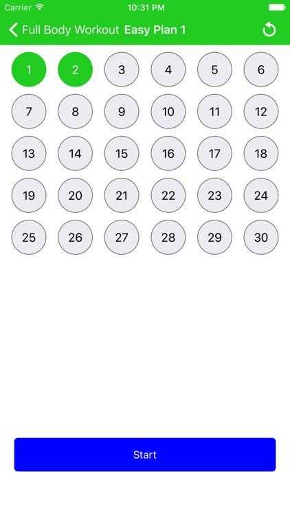 30 Day Fitness Workout Pro screenshot-3