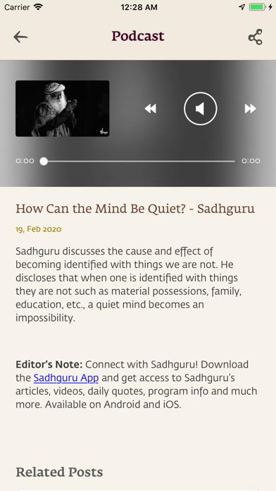 Sadhguru- Yoga & Meditationのおすすめ画像4