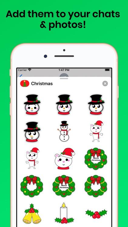 Christmas Holiday for iMessage screenshot-4
