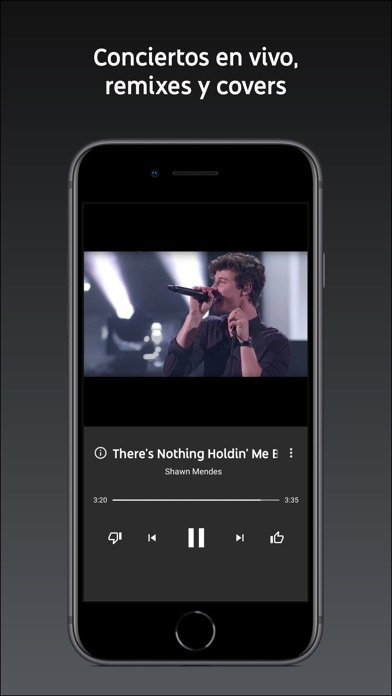 Screenshot for YouTube Music in Argentina App Store