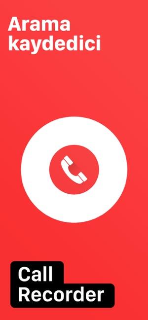 çağrı kaydedici iphone