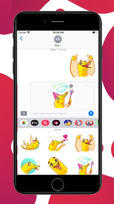 Screenshot for Gooseanana Stickers in United States App Store