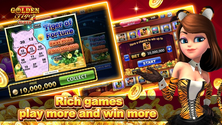 Golden Tiger Slots - Slot Game screenshot-3