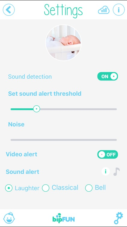 Universal Baby Monitor Pro screenshot-1