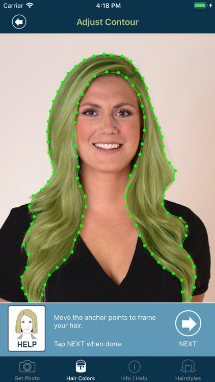Hair Color Studio screenshot-3
