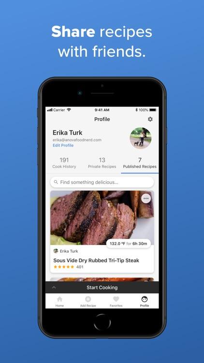 Anova Culinary screenshot-6