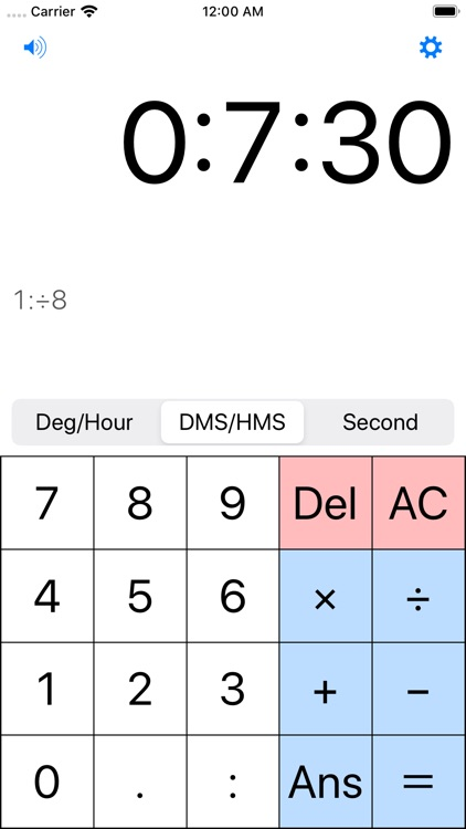 Coord and Time Calculator