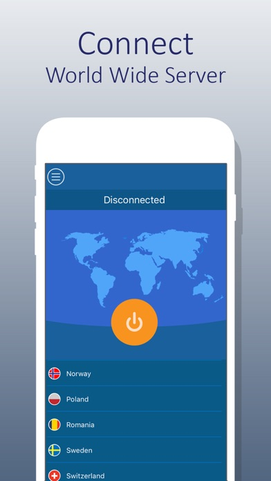 Screenshot for VPN For iPhone - Unlimited VPN in Hong Kong App Store