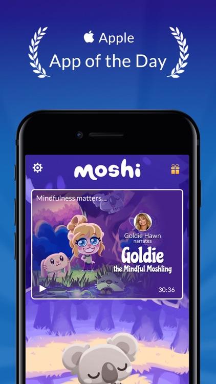 Moshi: Sleep and Mindfulness screenshot-0