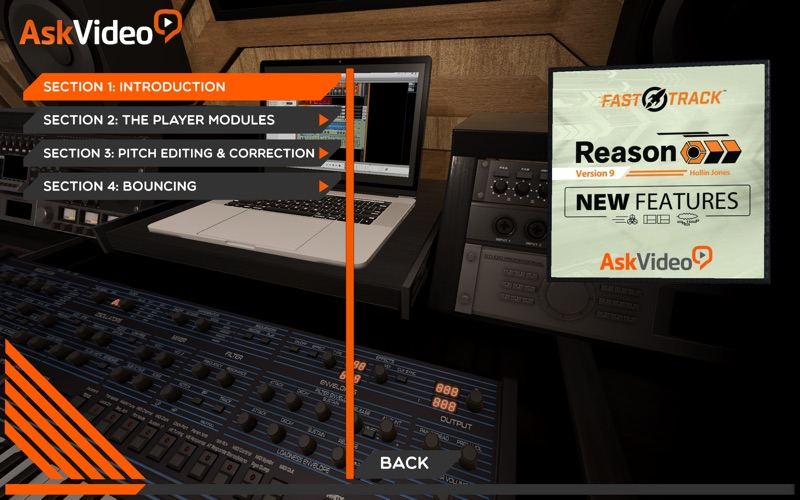 New Features Course For Reason for Mac