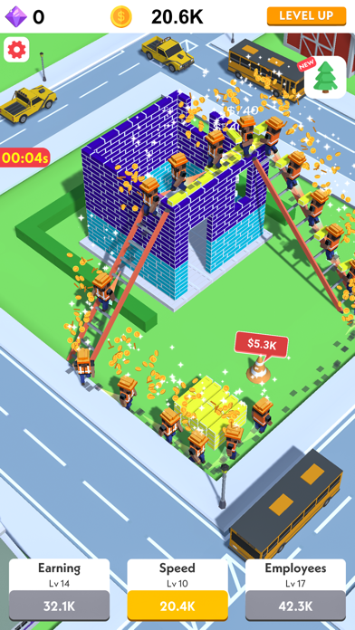 Idle Construction 3D screenshot 2