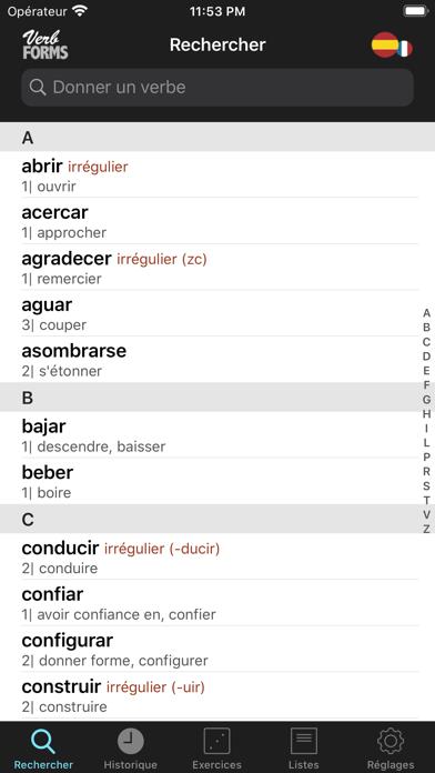 Telecharger Espagnol Verbes Conjugaison Pour Iphone Ipad Sur L App Store Education