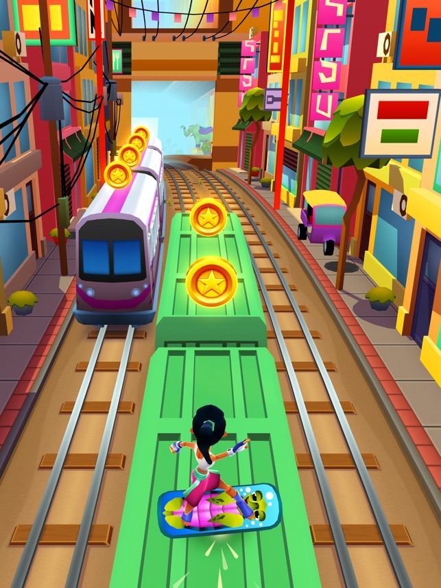 google play store subway surfers game