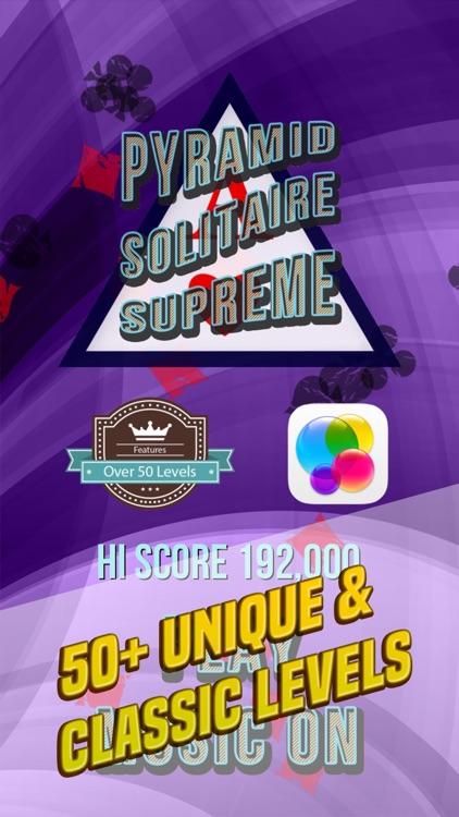 Pyramid Solitaire Supreme screenshot-4