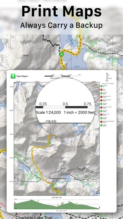 Topo Maps+ screenshot-6