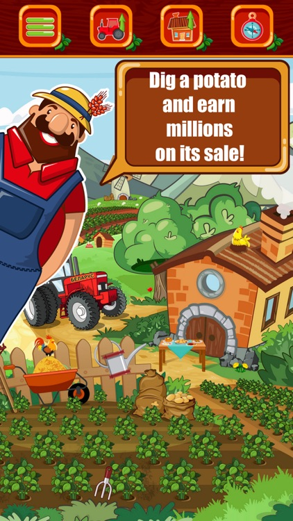 Potato baron - idle tycoon