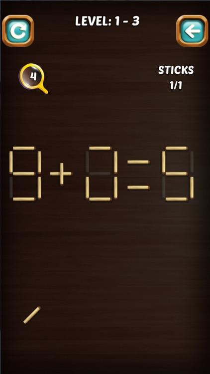 Math Match Stick Puzzle screenshot-7