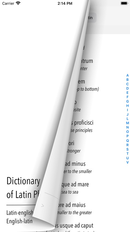 Dictionary of Latin Phrases