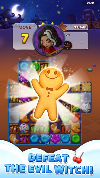 Sweet Road – Cookie Rescue screenshot-3