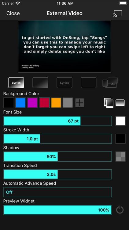 OnSong Pro screenshot-4