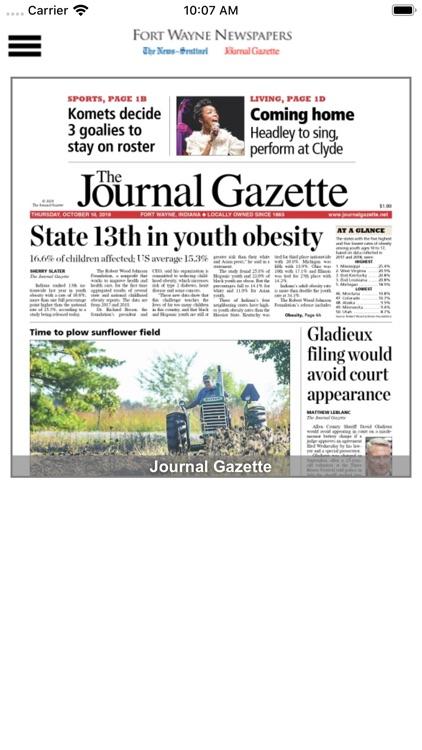The Fort Wayne Journal Gazette