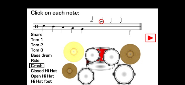 Drums Sheet Reading on the App Store