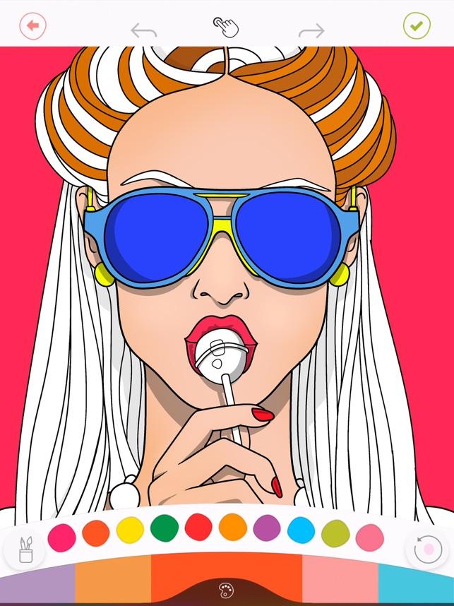 Colorfy Boyama Kitabi App Store Da