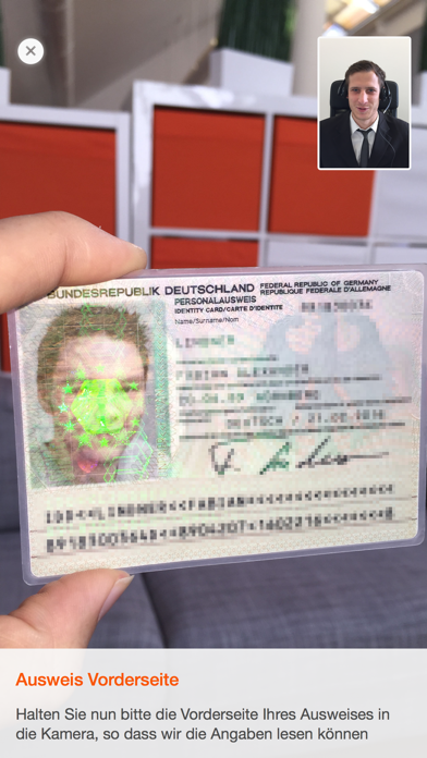 Screenshot for IDnow Online-Ident in Austria App Store