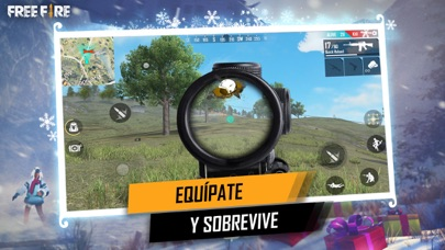 Screenshot for Free Fire: Festival Invernal in Spain App Store