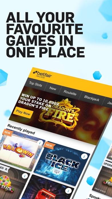 Betfair Arcade Games screenshot two