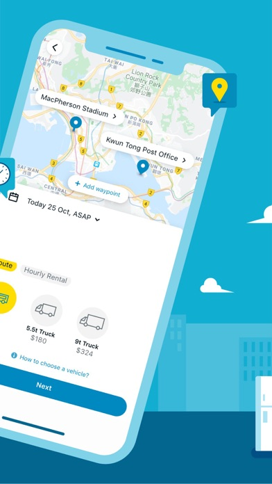 GOGOVAN – Your Delivery App screenshot two