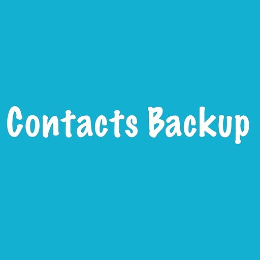 Contacts Backup File