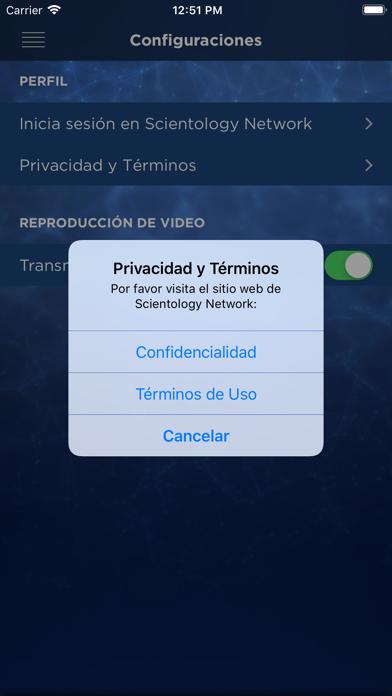 Scientology NetworkCaptura de pantalla de7