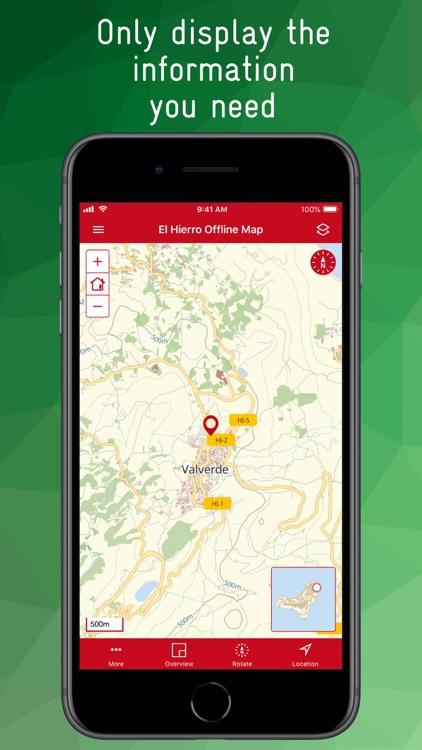 El Hierro Offline Map screenshot-3